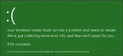 Kenapa Windows 10 Berwarna Hijau