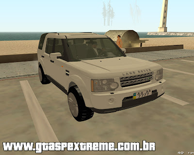 Land Rover Discovery 4 para grand theft auto