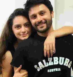 Shruti Marathe With Her Husband