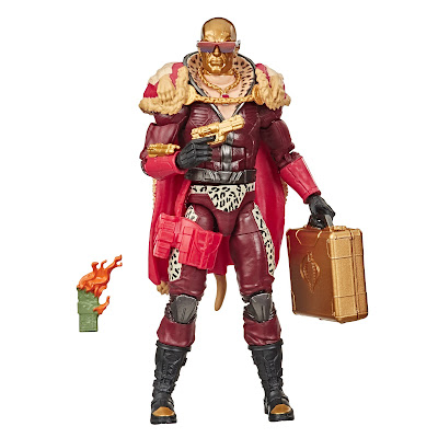 "G.I. Joe Classified Series ""Pimp Daddy"" Destro aka Profit Director Destro Action Figure"