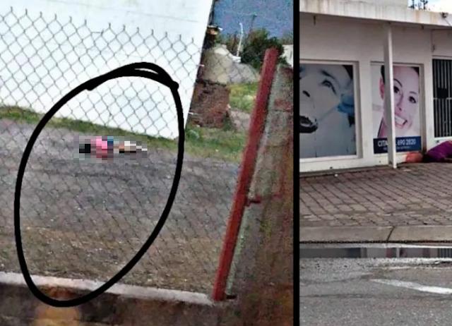 2 videos; Así fueron las balaceras tras enfrentamientos el día de hoy en Magdalena de Kino, Sonora dejaron varios cuerpos regados por la ciudad