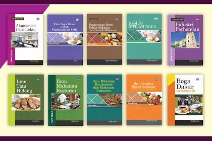 Buku Perpustakaan Desa - Buku Tata Boga, Makanan dan Pariwisata