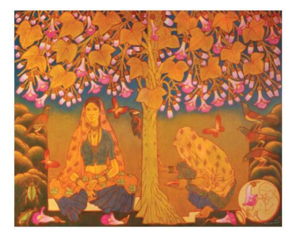 'A Retrospective of A. Ramachandran' art exhibition by Ramachandran