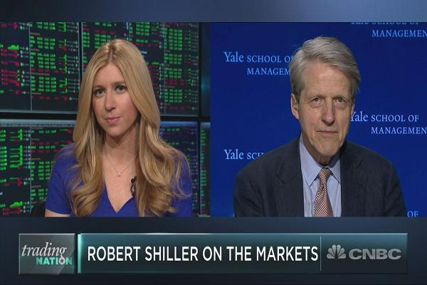 Bitcoin is a bubble and a perfect example of 'faddish human behavior,' says Robert Shiller