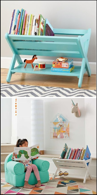 book shelves diy kids