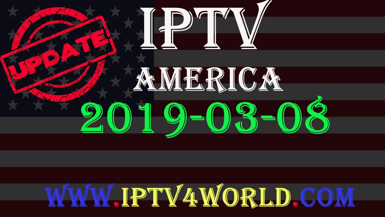 list Iptv America 08/03/2019 Free Channels - iptv4world