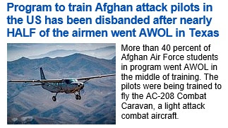 https://www.dailymail.co.uk/news/article-6988999/Program-train-Afghan-attack-pilots-disbanded-nearly-half-went-AWOL.html
