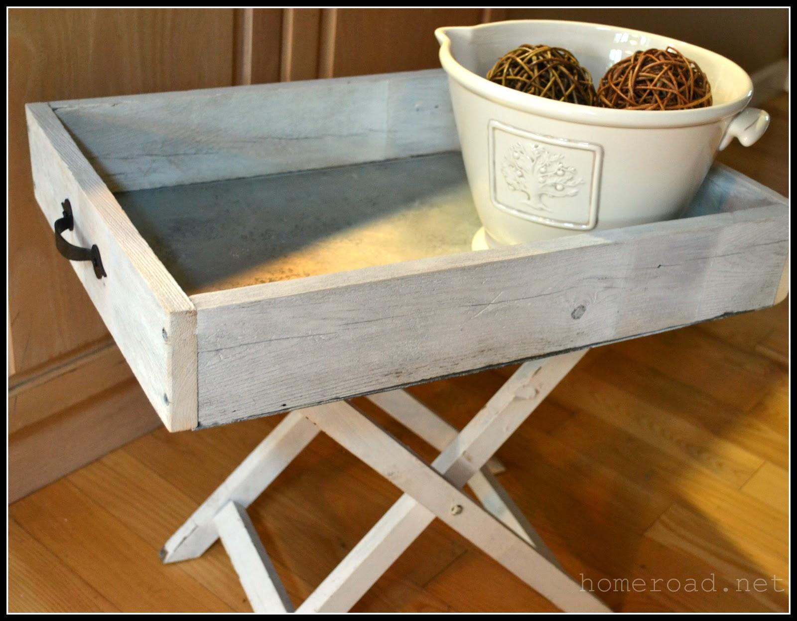 DIY Galvanized Steel Tray | Homeroad