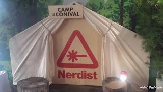 The Nerdist's tent