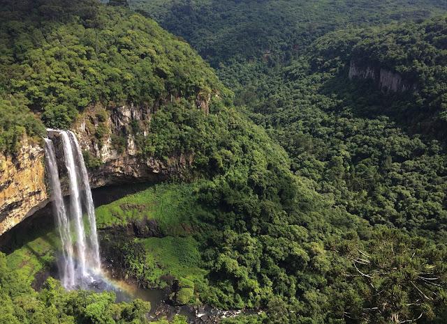 Cascada Caracol, Rio Grande do Sul, Brazilia
