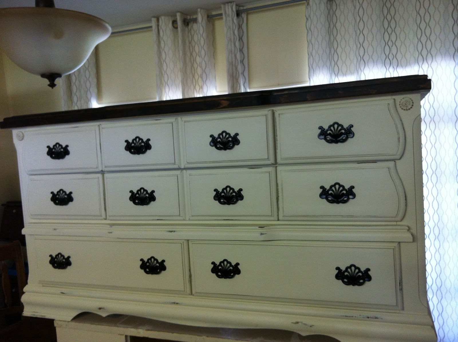 Well known The Funkie Munkie Furniture: Old White Solid Wood Dresser AW69