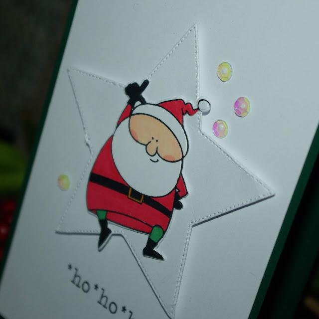 [DIY] Ho Ho Ho Grüße vom Weihnachtsmann.