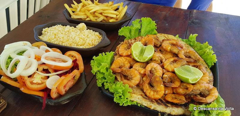 Almoço na Praia do Madero Pipa RN
