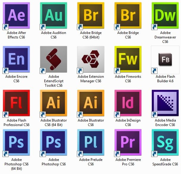Free Download Adobe CS6 Master Collection Final