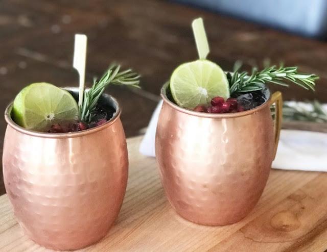 Pomegranate Irish Mule #drinks #alcohol