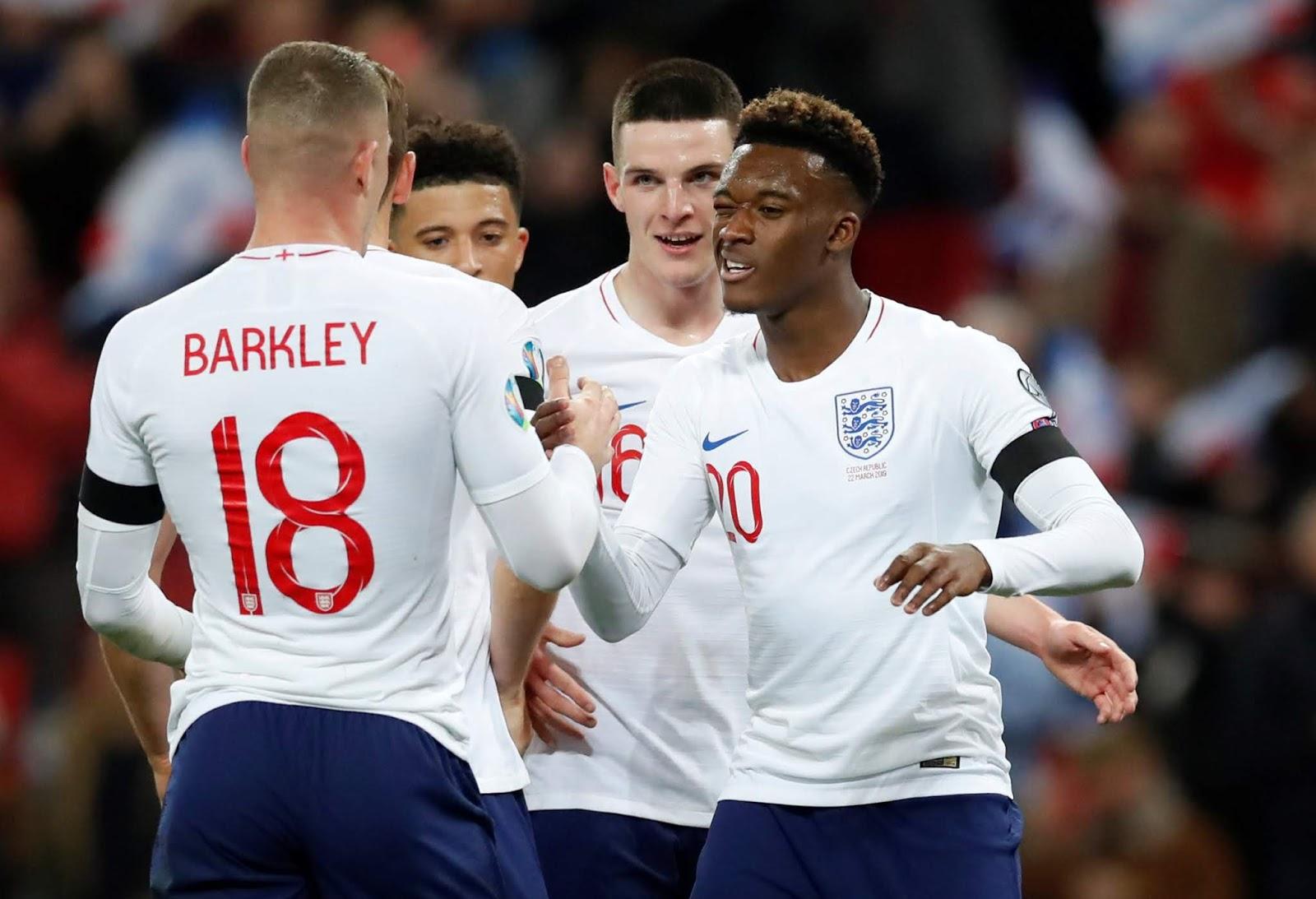 نتيجة مباراة انجلترا وجمهورية التشيك بتاريخ 11-10-2019 التصفيات المؤهلة ليورو 2020