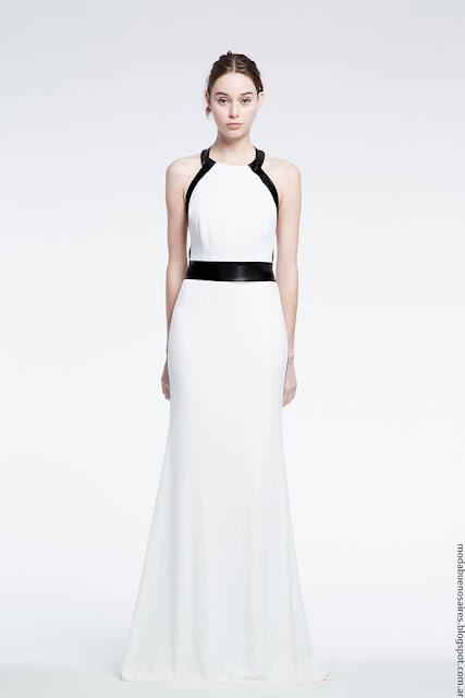 Moda vestidos de fiesta verano 2017 largos Natalia Antolin.