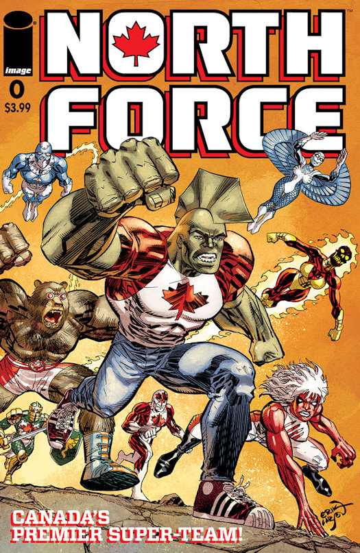 Savage Dragon #259 becomes North Force #0 This May