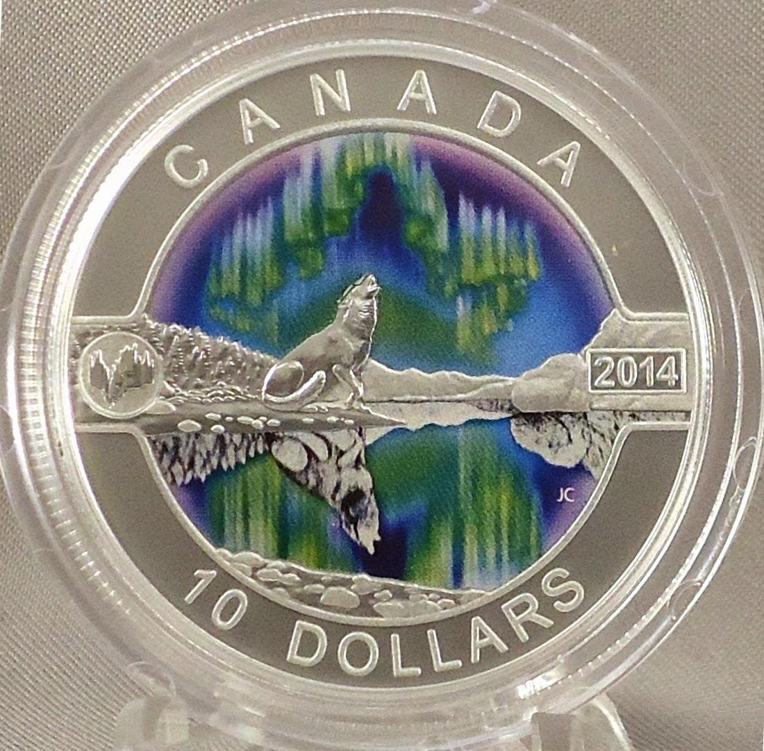 Coins, Jewelry & More by OK Ranch: Canada 2014 $10 Wolf ... - photo#40