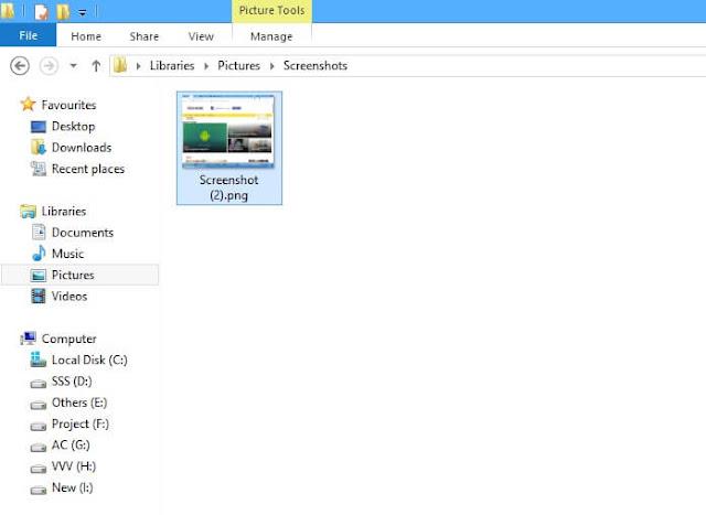How to Take Screenshot on Laptop windows + PrtScn