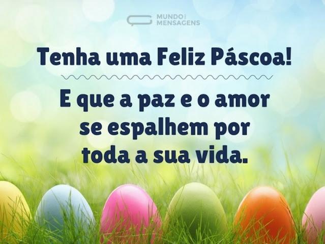 Feliz páscoa, paz, amor, saúde, ressureição, nova vida, renascimento