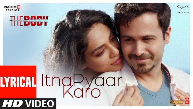Itna Pyaar Karo Lyrics - Shreya Ghoshal