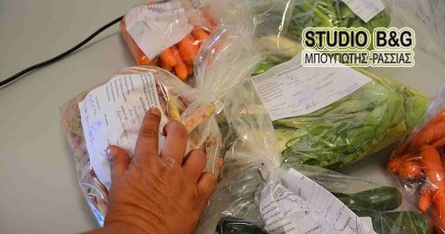 Αποτελέσματα ελέγχων: «Καθαρά» τα φρούτα και λαχανικά της Αργολίδας