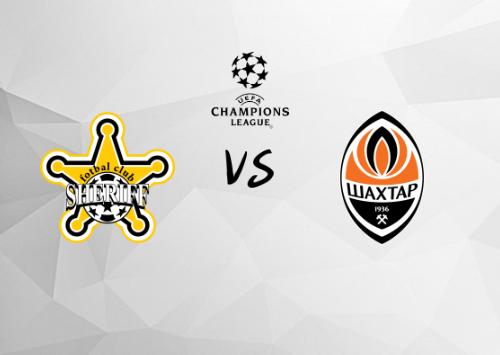 Sheriff Tiraspol vs Shakhtar Donetsk  Resumen