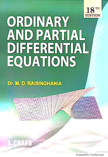 Ordinary and Partial Differential Equation : for all Competitive Exams PDF