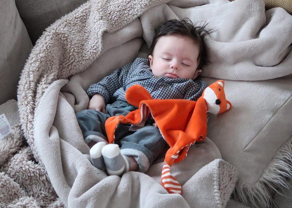 Sleeping 4 Month Old Baby - Update Progress