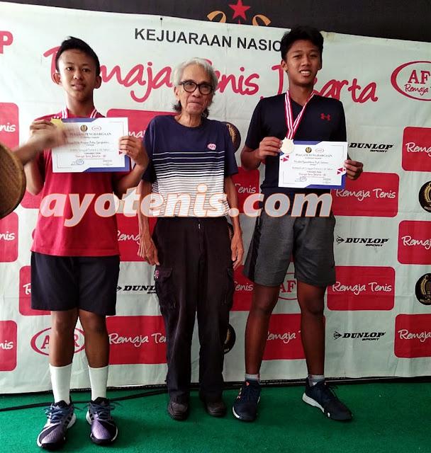 Dua Petenis Yunior Banjarmasin Sabet Gelar Juara RemajaTenis Jakarta-92