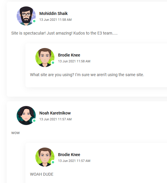E3 2021 virtual online fan portal forum site sucks