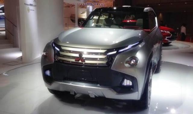2018 Mitsubishi Montero Redesign, Release Date