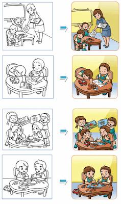 Contoh-contoh hasil pewarnaan gambar www.simplenews.me