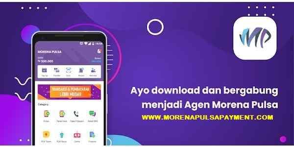 Cara Daftar, Download & Menggunakan Aplikasi Morena Mobile Topup