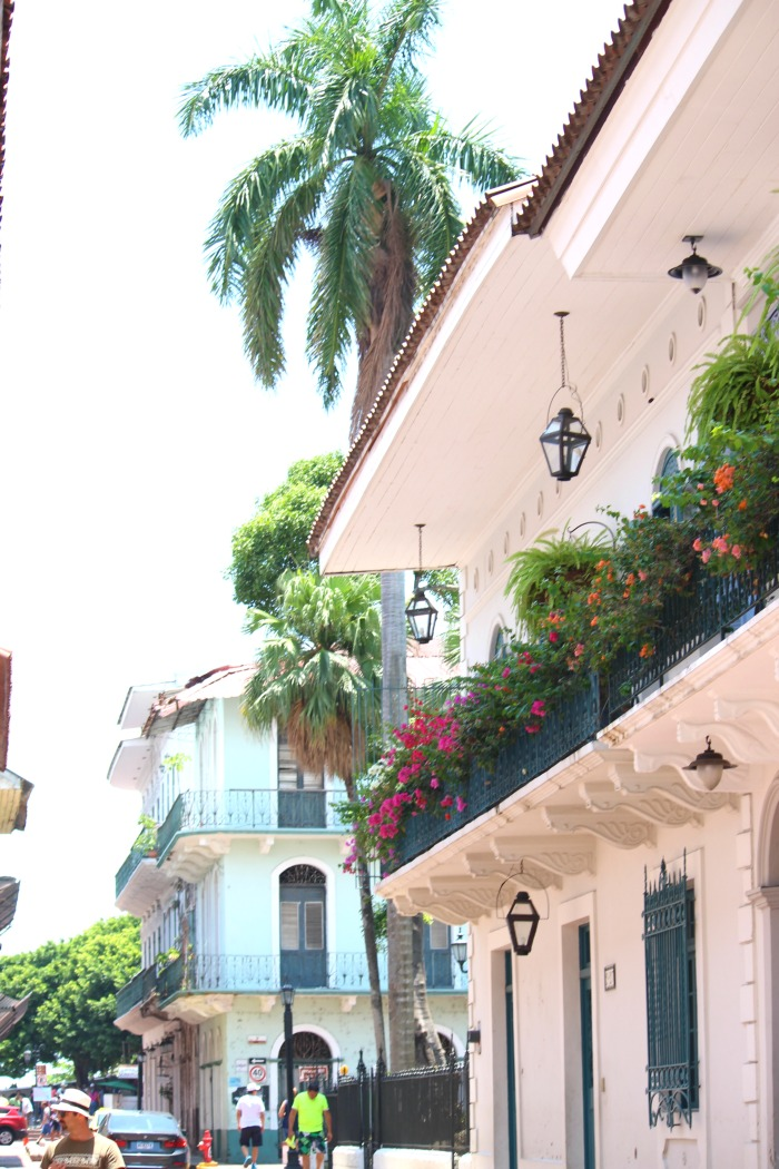 interesting architacture in panama city, panama
