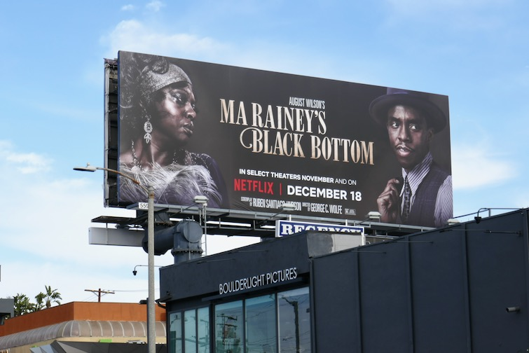 Ma Raineys Black Bottom Netflix film billboard
