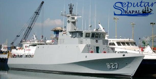 Kapal Perang KRI Krait 827