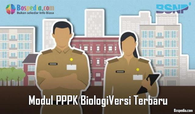 Modul PPPK Biologi Versi Terbaru