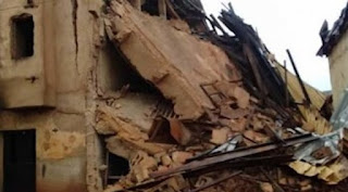 PLATEAU STATE COLLAPSED BUILDING'S DEATH TOLL HITS 12