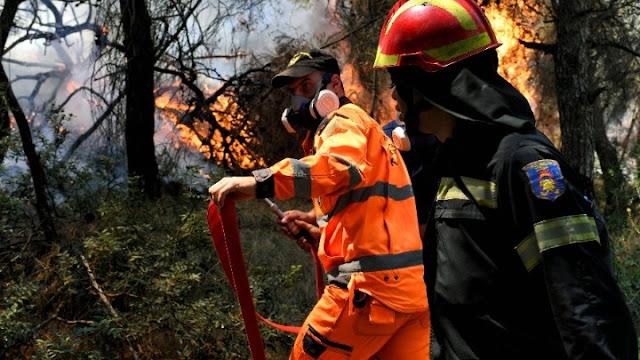 Μεγάλο ενδιαφέρον για εθελοντές πυροσβέστες στην Περιφέρεια της Πελοποννήσου