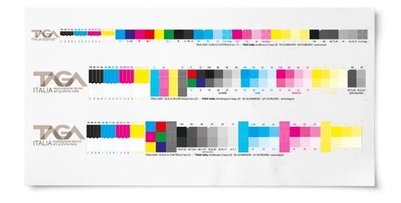 Riferimenti tecnici riservati ai soci taga italia - Scale di colore ...
