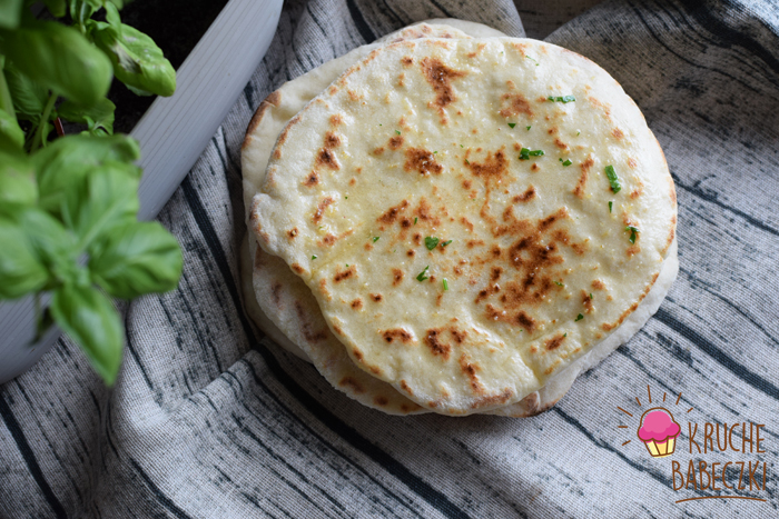 Chlebki Naan z patelni - pyszne