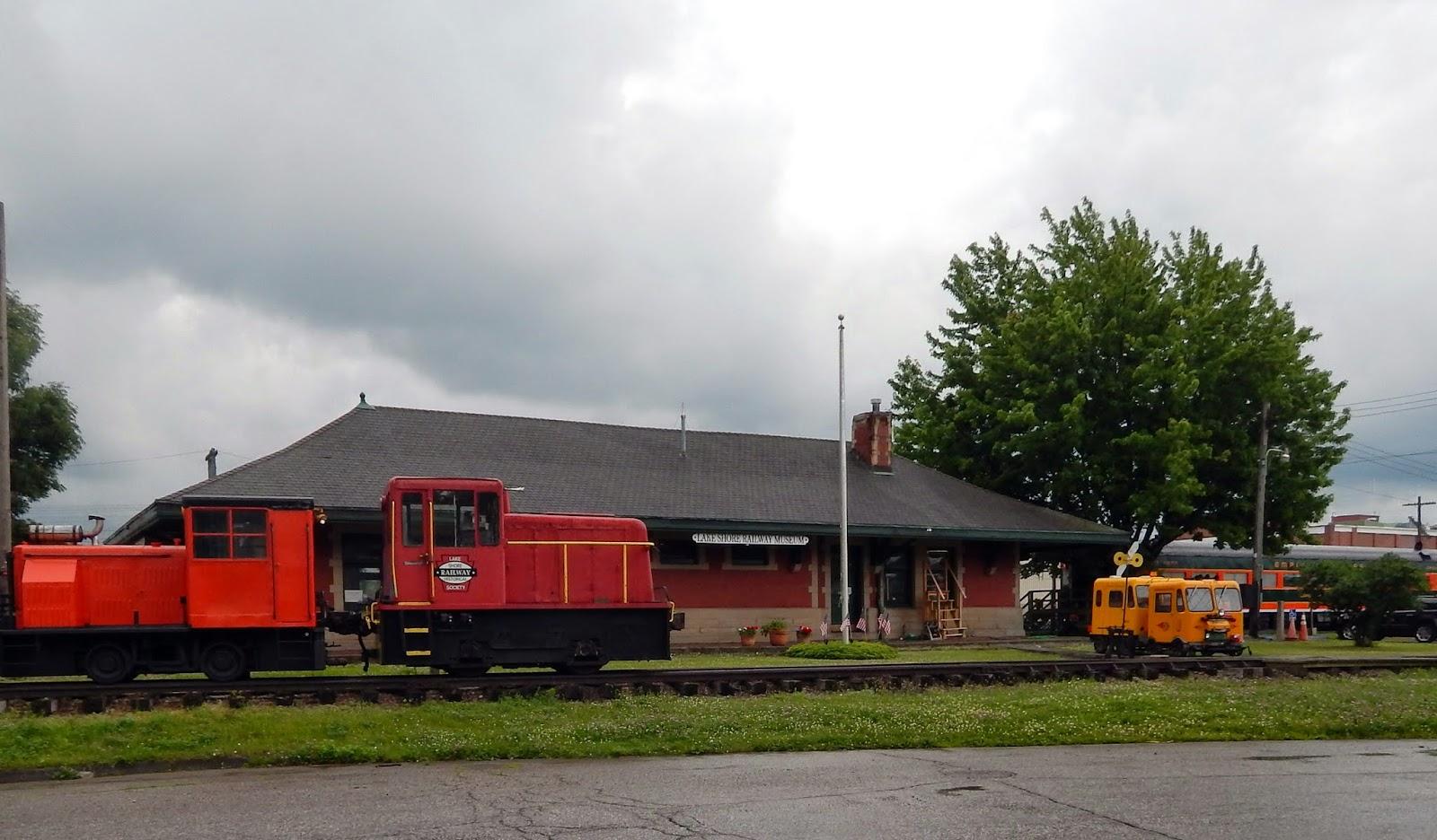 lakeshore railway museum in north east pa