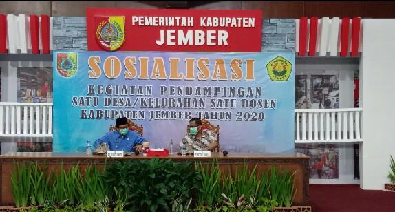 Program Satu Desa Satu Dosen, Harapkan Potensi Desa Bisa Terangkat .