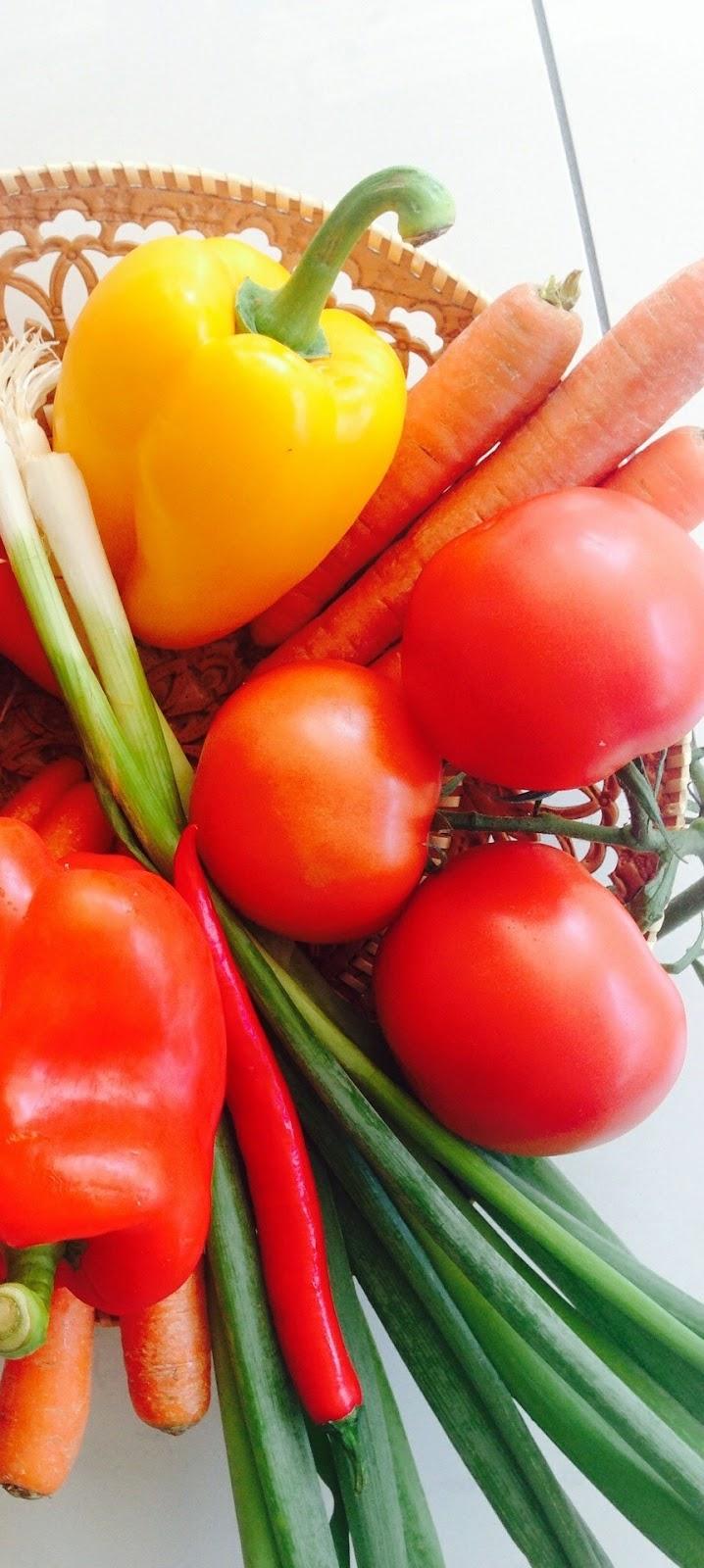 Vegetable basket.