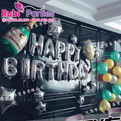 Cửa hàng bán phụ kiện trang trí sinh nhật ở Yên Hòa
