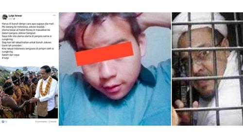 Mau Bunuh Presiden, Pria Ini Tak Terima Habib Rizieq Dipenjara: Jokowi Biadab