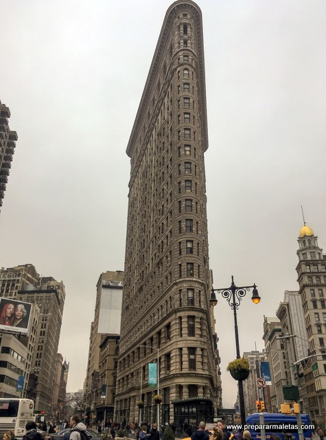 Flatiron Building imprescindible en Nueva York