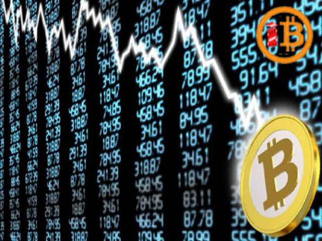 Bitcoin dan Mata Uang Kripto Mengalami Penurunan